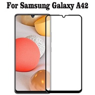 2PCS Samsung Galaxy A42 5G Tempered Glass Full Cover Glass Samsung A42 5G A 42 Screen Protector Film