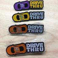 麥當勞pin/麥當勞極速團隊/supercrew /DRIVE THRU 得來速徽章pin/限量超絕版