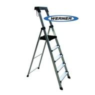 【WERNER】美國Werner穩耐安全鋁梯-P275AS 大平台5階家用梯/A字梯