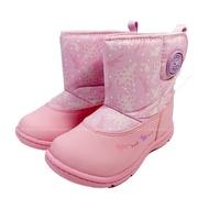 (B9) MOONSTAR 月星 日本機能童鞋 雨鞋 雨靴 雪靴 防水 保暖 大開口 CRC22794兔子粉 [陽光樂活]