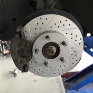 🇬🇧ferodo原裝進口 Mazda 1.6 2.0 前 劃線打洞 碟盤 馬三 馬五 focus mk2 mk3.5