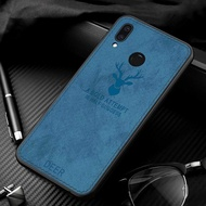 Luxry Deer Cloth Texture Phone Case For Huawei Nova 3i Cover
