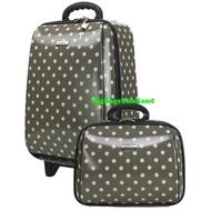 🔥โปรโมชั้น กระเป๋าเดินทางล้อลาก ขนาด 18 นิ้ว และ 14 นิ้ว รุ่น 7719  (GREY)