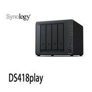 Synology群暉 DiskStation DS418play 網路儲存伺服器 NAS