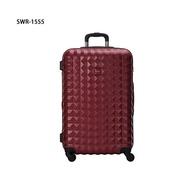 【加賀皮件】SUMDEX CLEO 多色 可擴充加大 PC 菱格 行李箱 30吋 旅行箱 SWR-1555