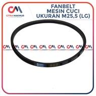 Vanbelt M25.5 Mesin cuci LG V Van Fan Belt Panbel Fanbelt Vbelt Pan 255 M 25.5  Limited