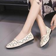 รองเท้าแบนหัวมน รองเท้าผู้หญิงรองเท้ารองเท้าคัชชู รองเท้าแฟชั่นนำเข้า