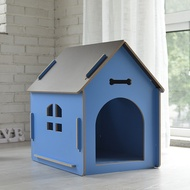Dog House Teddy Dog House Dog House Tent Wooden Cat Dog Rabbit Cage Wooden Pet Cat House