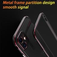 Apple Iphone 11 Pro Maxเคสโทรศัพท์11กรอบโลหะป้องกันกรณี11 Pro Collisionขอบเคสโทรศัพท์iPhone 11 Pro Anti-Fallingกรณี (สำหรับiPhone 11 Series)