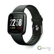 【領券現折】$120About Time A1 智慧手錶-星空系列浩瀚黑