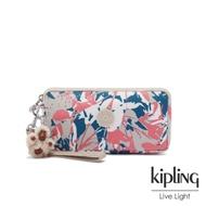 Kipling 碰撞魅力潑墨手拿包-LOWIE