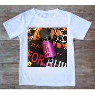 白色T-Shirt(鋼鐵果 葡萄)