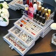 首飾盒抽屜飾品收納盒化妝品大容量壓克力簡約