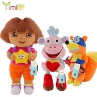 現貨朵拉毛絨玩具朵拉公仔布娃娃 dora毛絨玩偶送兒童生日禮物送女孩
