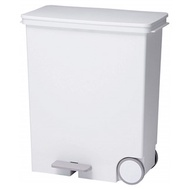 日本 LIKE IT 橫向式分類垃圾桶 33L - 純白色