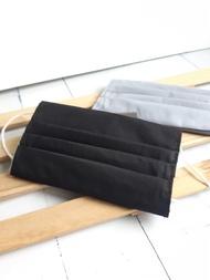 黑色立體棉布口罩套大人純棉環保適用醫療口罩不能退貨下單請注意