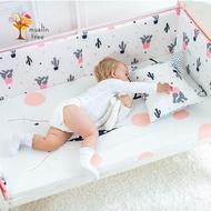 【荷蘭 Muslintree】嬰兒床加厚防撞床圍寶寶防摔床墊