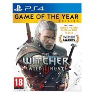 【特價優惠】 PS4原版片 巫師3 狂獵 年度最佳遊戲版 年度版 中文版全新品【主程式+石之心+血與酒】台中星光電玩