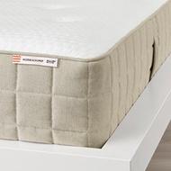 IKEA HIDRASUND 單人加大獨立筒彈簧床墊, 軟硬適中