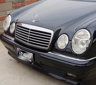 IDFR ODE 汽車精品 BENZ 賓士 E W210 WANGON 96-03  鍍鉻大燈框  電鍍大燈框