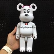 Bearbrick 400% PEANUTS SNOOPY Bearbrick White Dog Action Figure Model 28cm
