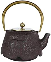 Traditional craft teapot Cast Iron Teapot Tea Pots Japanese Cast Iron Pot Iron Pot Japanese Cast Iron Pot Old Cast Iron Boiled Water Tea Uncoated 1.4 L