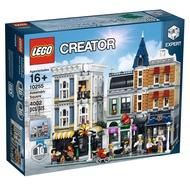 Lego 10255 集會廣場 四角銳利