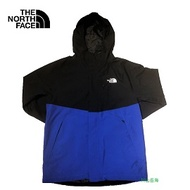 [ THE NORTH FACE ] 男 GORE-TEX 羽絨兩件式外套 藍黑 / 公司貨 NF0A3VSHEF1