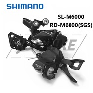 【COD&READY】Shimano Deore M6000 3×10 Speed Groupset RD-M6000 Rear Derailleur SL-M6000 Shifter