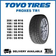 【Local Stock】TOYO PROXES TR1 - 205/45/16, 195/50/16, 205/50/16, 185/55/16, 195/55/16, 205/55/16, 215/55/16 TYRE TIRE TA