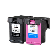 ZSMC HP63 Ink Cartridge for HP63XL Original Ink Cartridge for DeskJet 1110 1115 2130 2135 3630 3830 OfficeJet 465 Printer