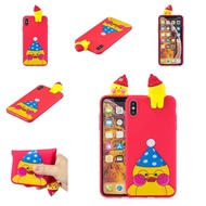 For OPPO Realme 2/A5 Indian Version 3D Cute Coloured Painted Animal TPU Anti-scratch Non-slip Protective Cover Back Case Style:OPPO realme 2/A5 Indian version