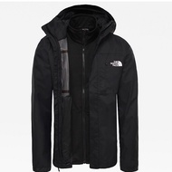 The north face quest tri jacket 黑 三合一外套