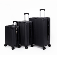 hot กระเป๋าเดินทางล้อลาก 20/24 นิ้ว4ล้อ กระเป๋า กระเป๋าเดินทาง กระเป๋าล้อลาก กระเป๋าเดินทางล้อคู่ ยืดหยุ่นสูง น้ำหนักเบา ตัวกระเป๋ากันน้ำ