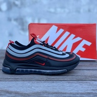Readystock☠️NIKE AIRMAX 97 BLACK RED