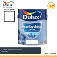 18Litre ICI Dulux Paint Weathershield Sealer 18177 18L