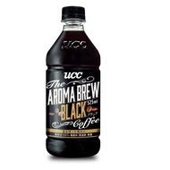 UCC AROMA BREW艾洛瑪黑咖啡525ml(24入) 拿鐵