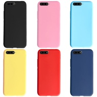 For Huawei Y6 2018 Case Huawei Y6 Prime 2018 Case Soft TPU Candy Color Phone Case For Huawei Y6 2018 Y 6 Prime 2018