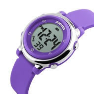 時刻美 SKMEI 1100 時尚兒童手錶 防水電子錶 男女學生果凍色時尚潮流個性彩燈腕錶