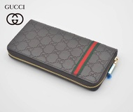 original 2020 new style_Gucci Wallet Men And Women Business Wallet Leather Card Holder Joker Exquisite Small Long Wallet For Men And Women