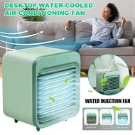 Original Rechargeable Mini Air Cooler For Room Water-Cooled Air Conditioner Desktop Air Cooler Mini Aircond Cooling Fan Air Cooler For Summer Home Living Room