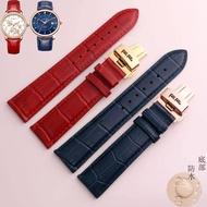 【大牌品質】 適用原裝Folli Follie芙麗真皮手表帶WF14A020SD男女手表配件20mmP313