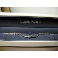 全新正品喬治傑生 Georg Jensen 925純銀同心結手鍊