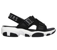 Skechers Daddy-O-Dibs [163051BLK] 女鞋 運動 休閒 透氣 涼鞋 夏天 穿搭 減震 黑白