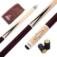 CUESOUL 57' 21OZ Pool Cue Sticks 13mm Tip Full A+++ Canadian Maple Wood Billiard Cue