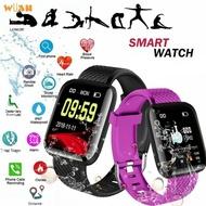 smart watch ~smart watch waterproof~ 116 PLUS Color Screen Smart Watch Heart Rate Blood Pressure Waterproof Sport Watch