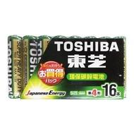 【東芝】環保4號電池16入