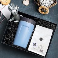【畢業禮盒】黑沃 耶加雪菲 南果 咖啡豆 360度隨行保溫咖啡杯