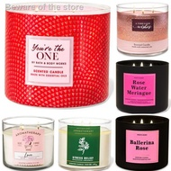¤Bath and body works 3 wick candle