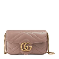 【Go時尚】GUCCI 古馳 Marmont super mini GG 鏈條包 ‎‎476433